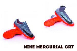 Nike Mercurial Superfly 5 de Cristiano se caracterizan por tener un físico imponente, como el de un atleta velo-cista. Su potencia, tanto para correr como para disparar son envidiables, y es por ello que necesitan unas botas adecuadas que cubran todas estas características.