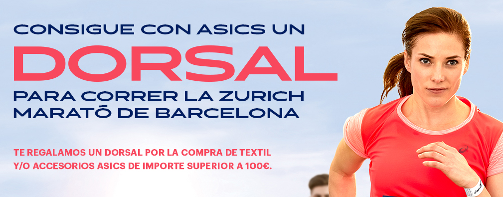 Promoción Asics Marató Barcelona 2018