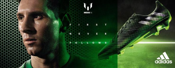 Messi First Never Follows