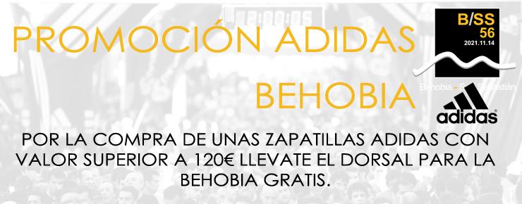 Promoción Adidas Behobia