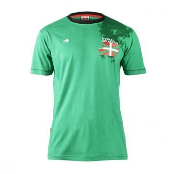 Camiseta paseo de la Euskal Selekzioa para la temporada 2014-2015