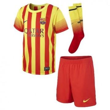 KIT FC BARCELONA SEGUNDA EQUIPACIÓN 2013-2014 NIÑO 532806-702