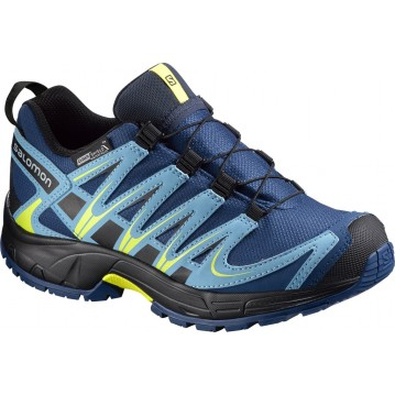 ZAPATILLAS RUNNING SALOMON XA PRO 3D CSWP NIÑO 379110