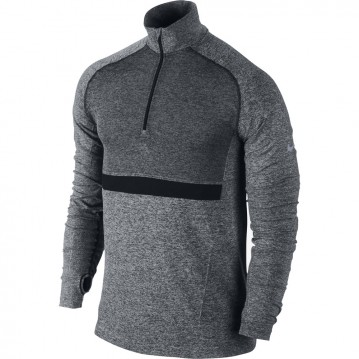 CAMISETA RUNNING NIKE DRI-FIT KNIT LONG-SLEEVE HALF-ZIP 548655-010