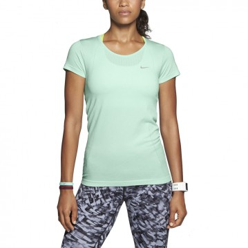 CAMISETA NIKE DRI-FIT KNIT SHORT-SLEEVE MUJER 588530-308