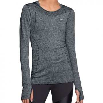 CAMISETA RUNNING NIKE DRI-FIT KNIT SHORT-SLEEVE MUJER 588532-032