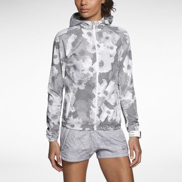 CHAQUETA NIKE RUNNING PRINTED DISTANCE MUJER 588661-100