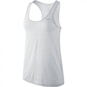 CAMISETA DE TIRANTES RUNNING NIKE DRI-FIT TOUCH BREEZE  MUJER 589030-100
