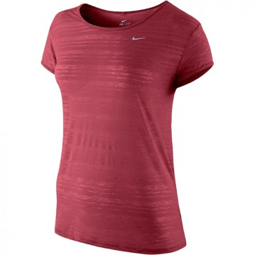 CAMISETA RUNNING NIKE DRI-FIT TOUCH BREEZE MANGA CORTA MUJER 589044-685