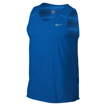CAMISETA NIKE DRI-FIT TOUCH TAILWIND STRIPED HOMBRE 596198-406