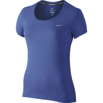 Camiseta nike dri fit contour mujer 644694-480