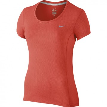 CAMISETA RUNNING NIKE DRI-FIT CONTOUR SHORT-SLEEVE MUJER 644694-842