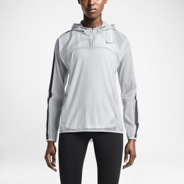 CHAQUETA NIKE TRANSPARENT WOVEN MUJER 644872-012