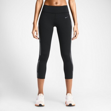 MALLAS NIKE NEGRO EPIC LUX PRINTED MUJER 644945-010