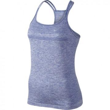 Camiseta de tiras nike dri fit knit mujer 645032-480