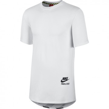 CAMISETA NIKE TRACK AND FIELD LONG BODY HOMBRE 650767-100