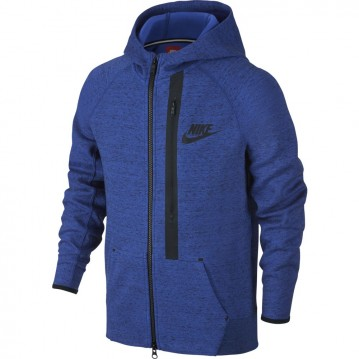 Sudadera nike tech fleece full-zip niño 679307-480