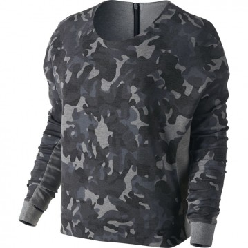 Camiseta nike tech fleece camo crew 683796-091
