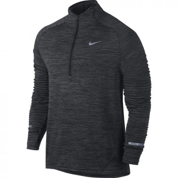 CAMISETA RUNNING NIKE ELEMENT SPHERE HALF-ZIP HOMBRE 683906-010