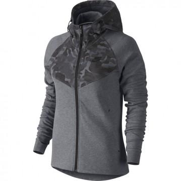 Sudadera nike tech fleece full-zip print mujer 685491-091