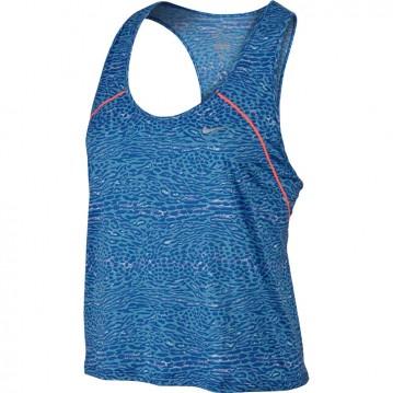 Camiseta running nike racing mujer 685649-407