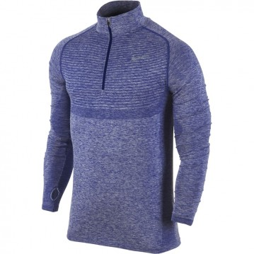 CAMISETA RUNNING NIKE DRI-FIT KNIT HALF-ZIP HOMBRE