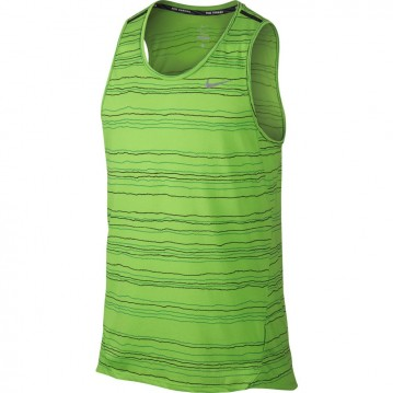 CAMISETA RUNNING NIKE COOL TAILWIND STRIPE HOMBRE 724805-313