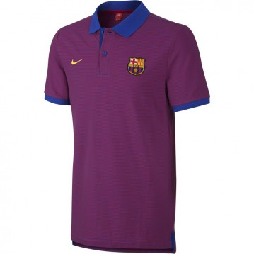 POLO OFICIAL FC BARCELONA AUTHENTIC GRAND SLAM SLIM 2016-2017 HOMBRE 777268-480