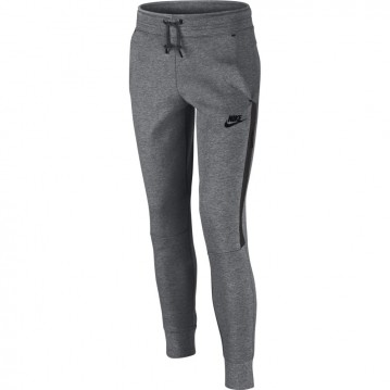 PANTALÓN LARGO NIKE TECH FLEECE NIÑA 807565-091