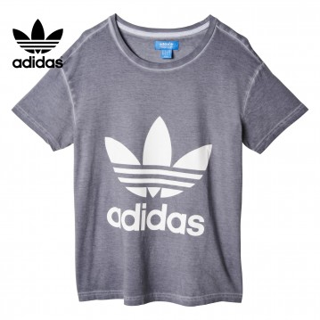 Camiseta adidas premium essentials washed mujer AB2152