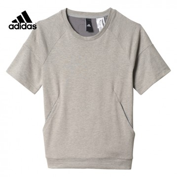 CAMISETA ADIDAS ID SWEAT NIÑA BP8696