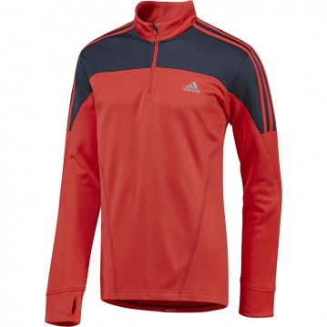 CHAQUETA RUNNING 3 STRIPES HALF ZIP G75636
