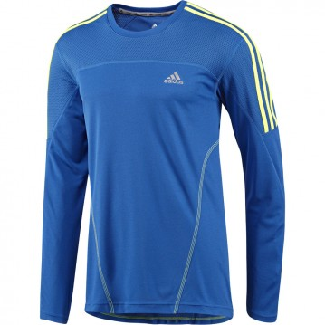 CAMISETA RUNNING MANGA LARGA RESPONDE 3 STRIPES HOMBRE G87971