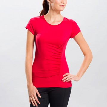 CAMISETA LOLË CURL TOP  LSW0727-R165