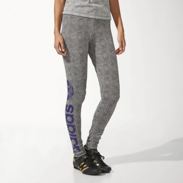 MALLAS ADIDAS ORIGINALS  ESTAMPADAS LAKERS MUJER M69959