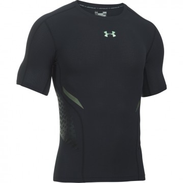 CAMISETA RUNNING COMPRESION UNDER ARMOUR HEATGEAR ARMOUR ZONE HOMBRE 1289555-001