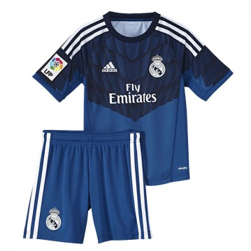 KIT REAL MADRID PORTERO 2014-2015 NIÑO