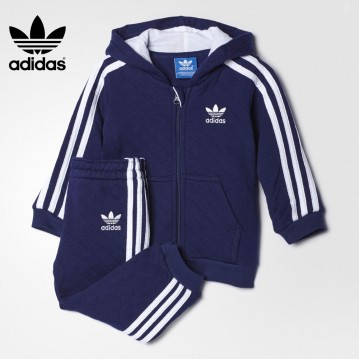 CHÁNDAL ADIDAS QUILTED HOODED BEBÉ