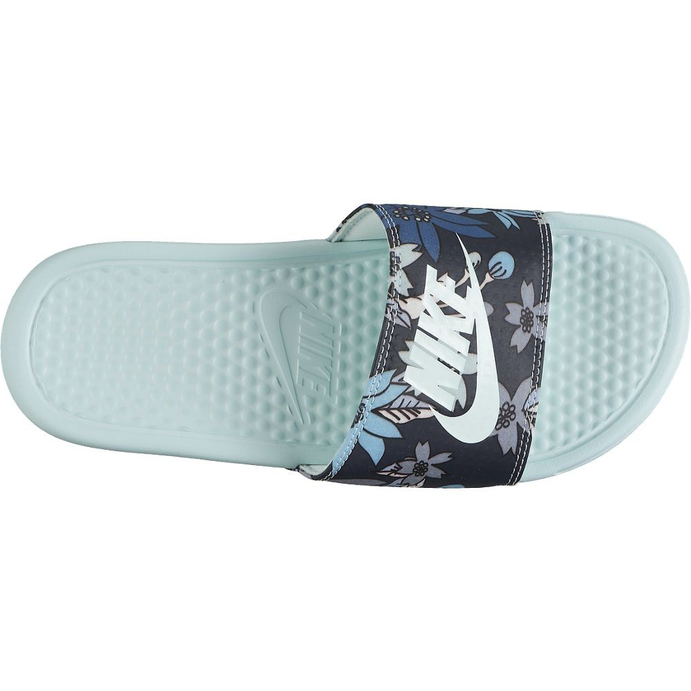 CHANCLAS NIKE BENASSI JUST DO IT PRINT MUJER 618919-334