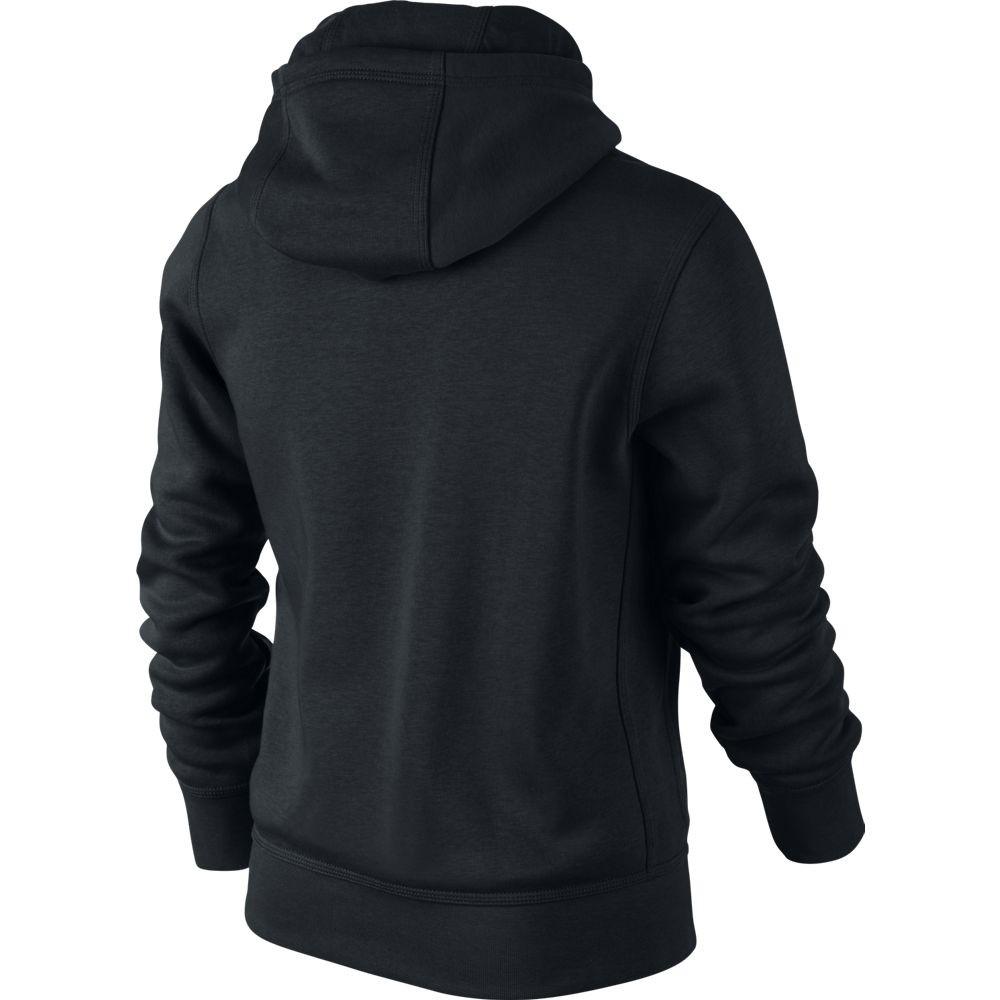 Nike Full 010 Niño Sudadera Brushed Fleece Zip 619069 gyfv7Yb6