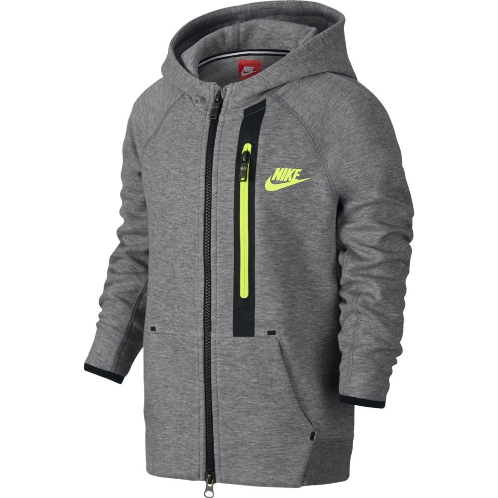 5dde8150ae818 CHAQUETA NIKE TECH FLEECE FULL-ZIP NIÑO 678823-063