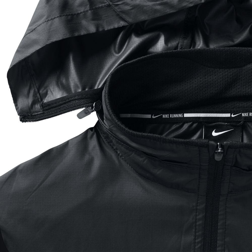 Chaqueta negra nike vapor jacket