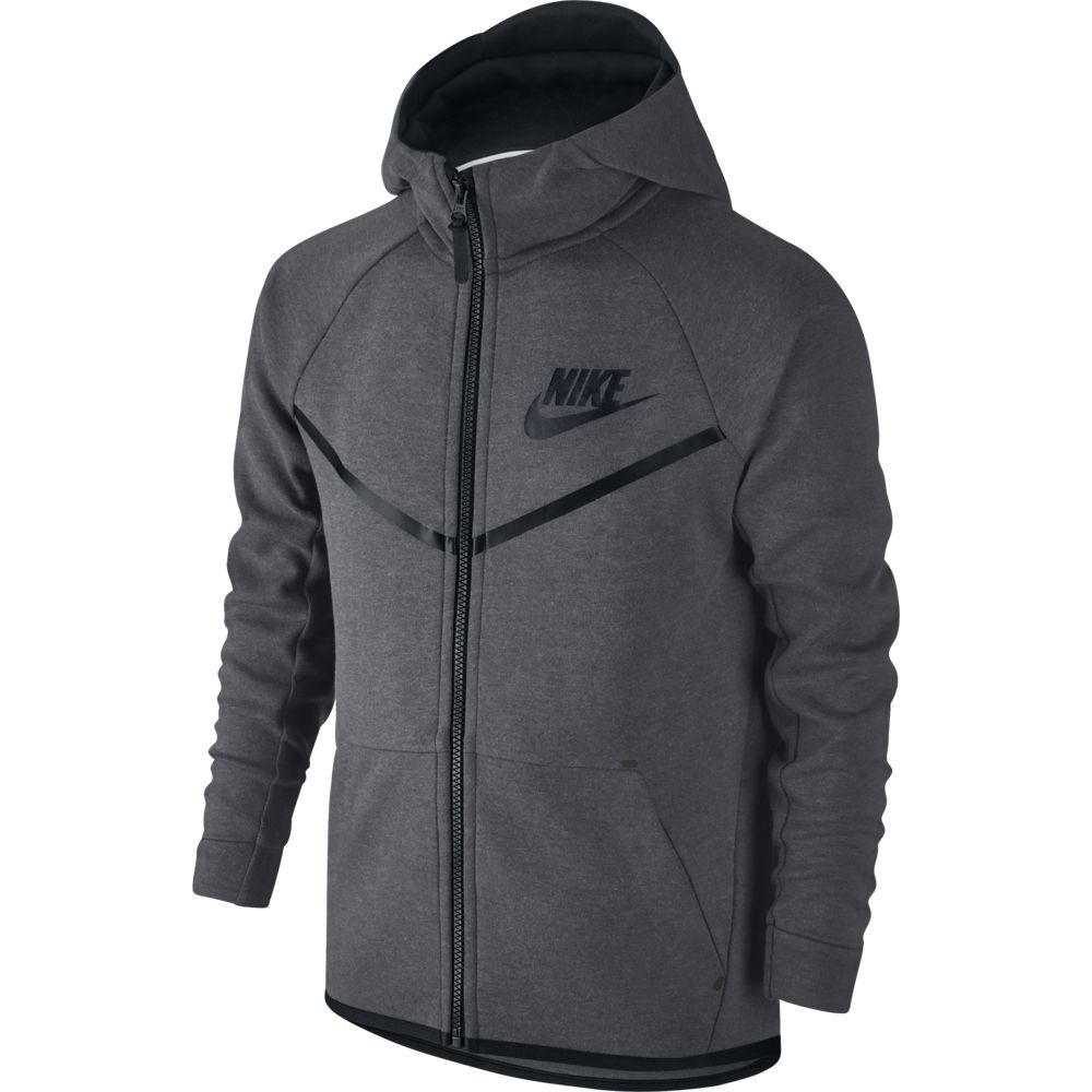 228ae6be5f0a6 CHAQUETA NIKE SPORTSWEAR TECH FLEECE WINDRUNNER NIÑO 804730-092