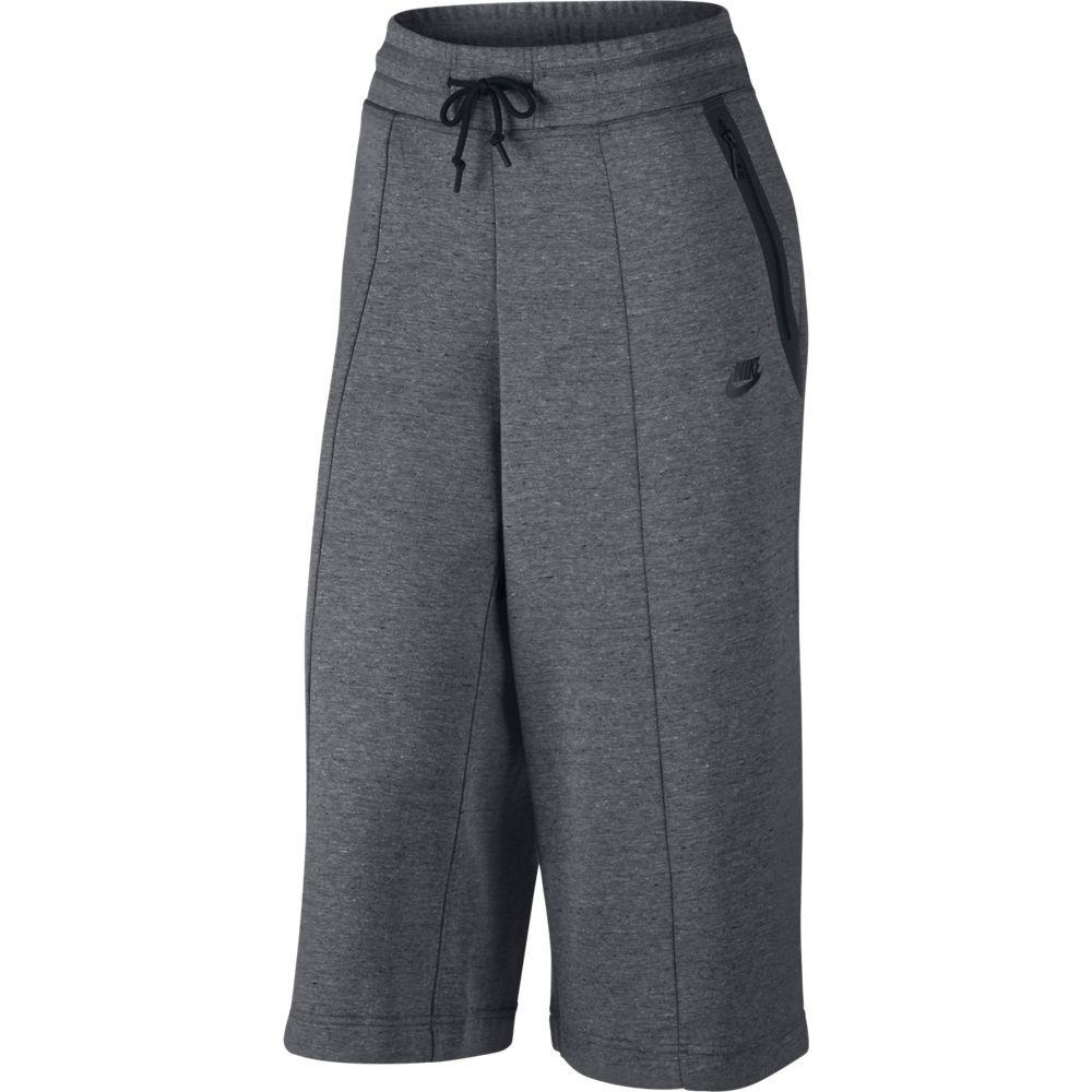pantal n corto nike sportswear tech fleece mujer 811679 063. Black Bedroom Furniture Sets. Home Design Ideas
