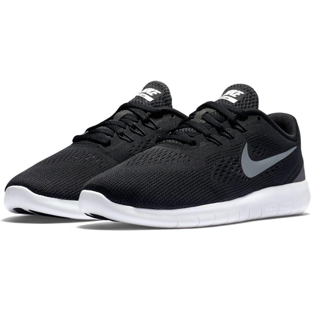 Tenis Nike Running Negro Blanco Niños
