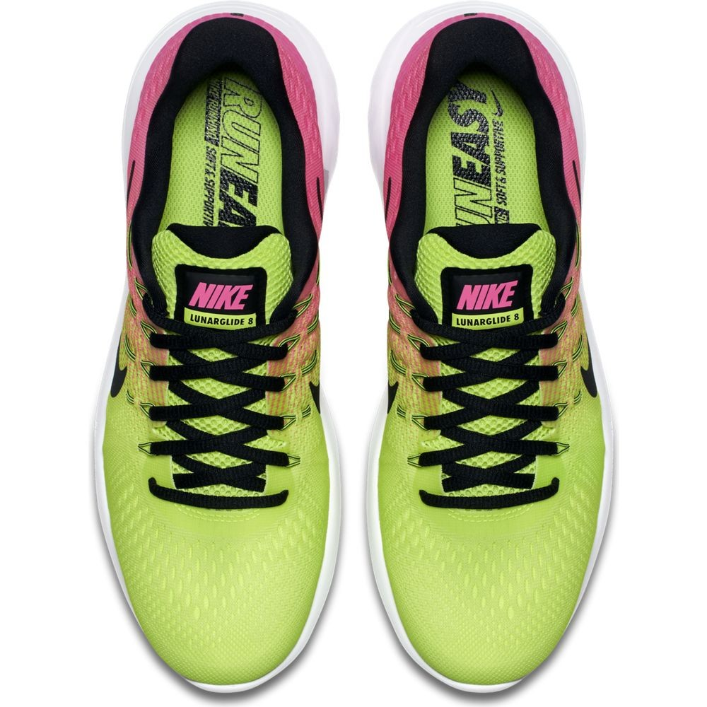 Zapatillas Nike Free RN Distance 2 Rosa y Celeste 001
