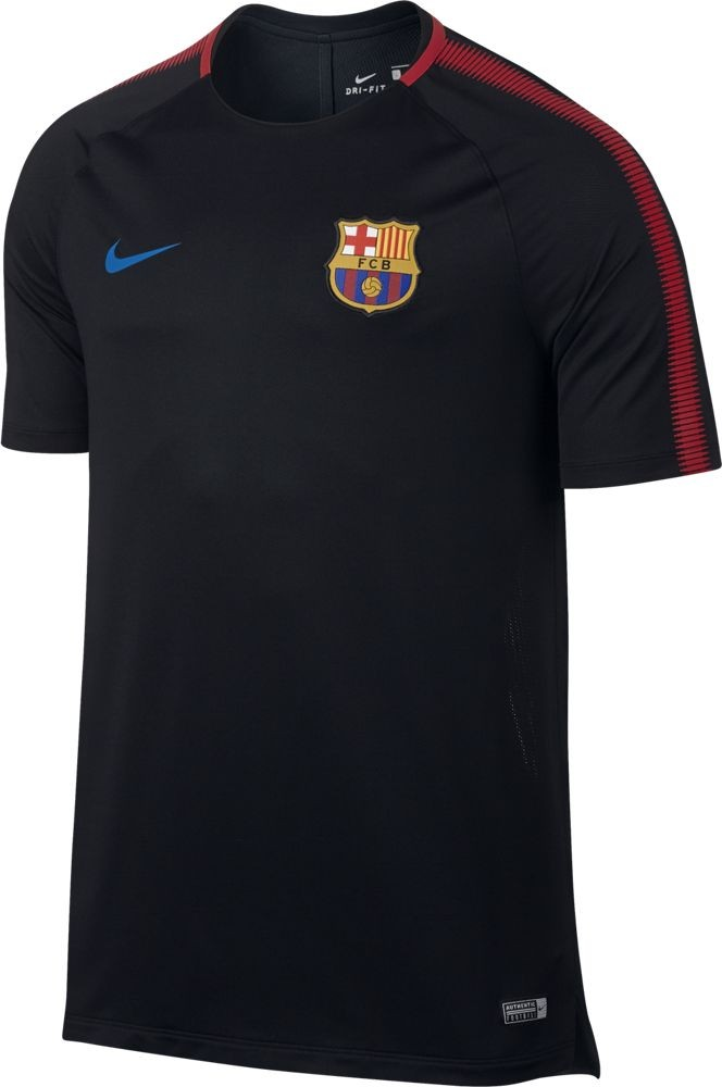 camiseta de oficial fc barcelona breathe squad hombre