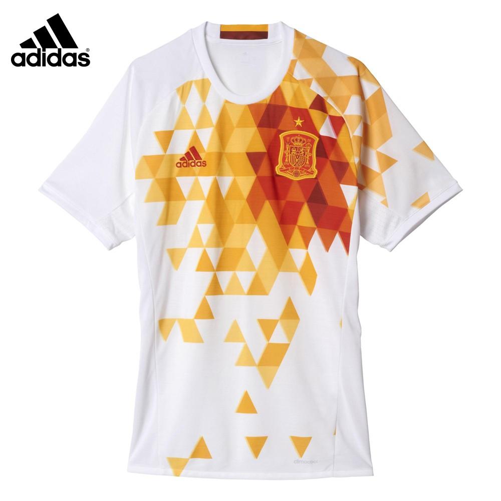 CAMISETA OFICIAL FÚTBOL SEGUNDA EQUIPACIÓN ESPAÑA ADIDAS UEFA EURO 2016  HOMBRE AA0830 24a5b088c9951