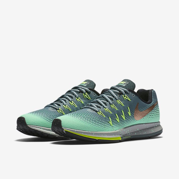 premium selection b00a6 9010d ... ZAPATILLAS RUNNING NIKE AIR ZOOM PEGASUS 33 SHIELD MUJER. ref. 849567- 300