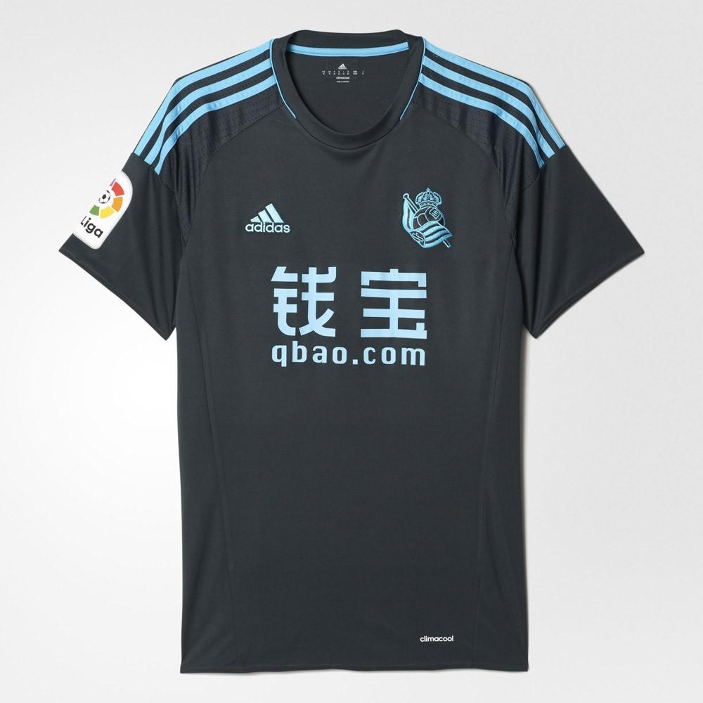 segunda equipacion Real Sociedad nuevas